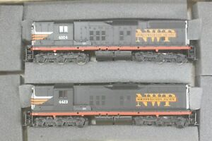 Athearn Special Edition Northwestern Pacific SD9 Power-Dummy Set, New