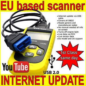Details about Fits SUBARU OBD 2 Car Diagnostic ENGINE Code Reader Scanner  Tool