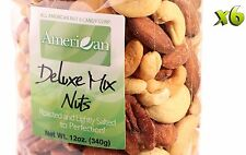 72oz Gourmet Style Bags of Delectable Roasted Salted Deluxe Mixed Nut [4 1/2 lb]