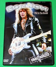 Bon Jovi Wild In The Streets! Unauthorized DVD 2003 Excellent Condition