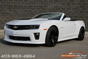 2015 Chevrolet Camaro CONVERTIBLE ZL1 \ COLOR MATCHED GROUND EFFECTS \ AUTOMATIC