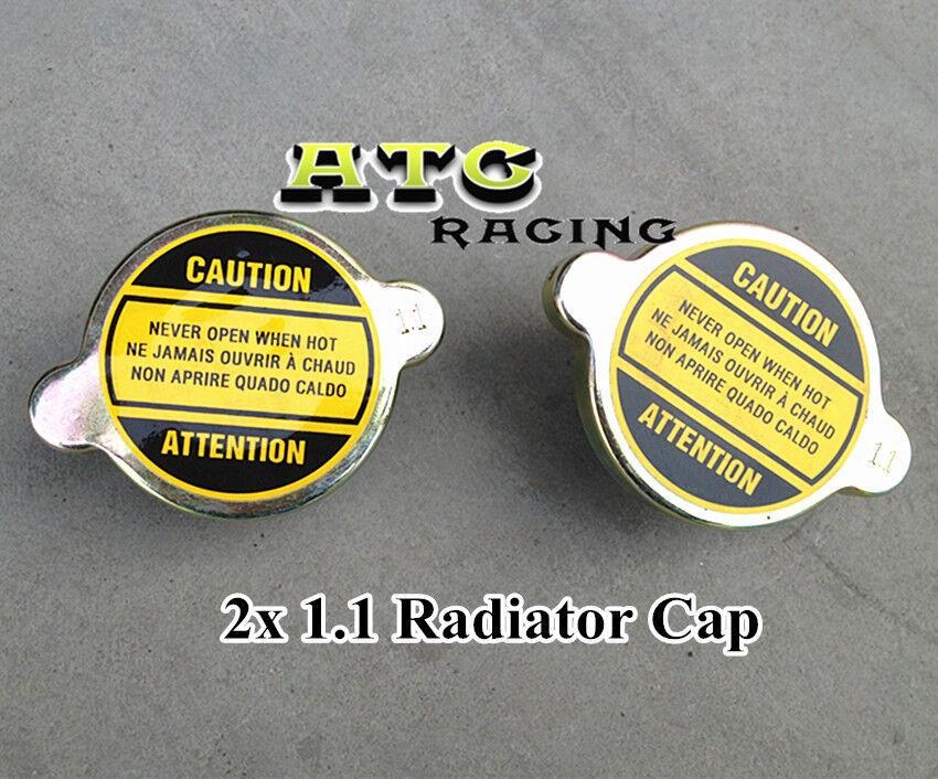 2pcs NEW 1.3 BAR CHROME RADIATOR CAP COVER HONDA OR JAPAN CAR USDM MODELS ONLY