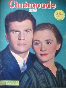 Cinema-Daniele-Delorme-Henri-Vidal-Bette-Davis-Ava-Gardner-N-926-Kodak-1952