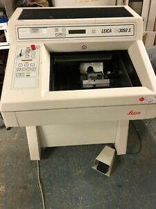 LEICA BIO RESEARCH CRYOSTAT CM3050S HISTOLOGY CRYOSECTIONING MICROTOME