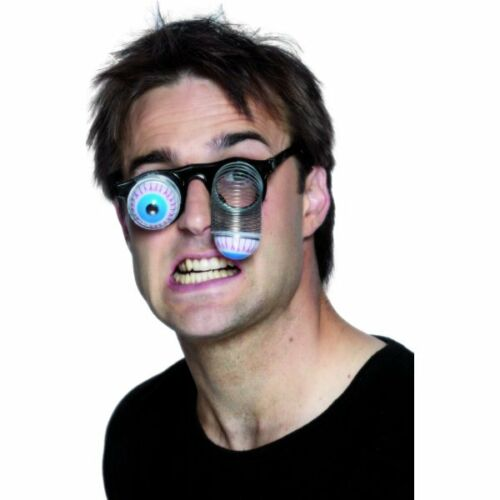 DROOPY Eye specifiche Occhiali Adulti Unisex Smiffys Costume Accessorio