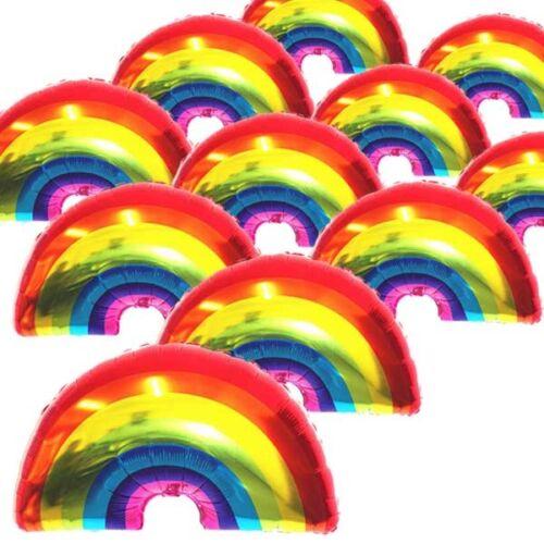 Supershape Rainbow Foil Balloon Baby Shower Wedding Birthday Party Decor