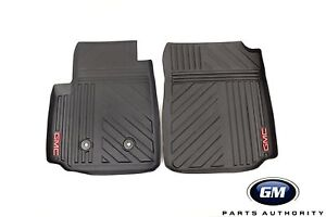 d1f6013f8d 2015-2019 GMC Canyon Premium All Weather Front Floor Mats 22968489 ...