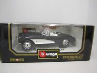 1957 57 Chevrolet Corvette CV Convertible 1 18 Scale by Bburago