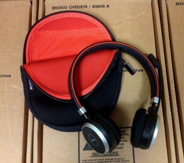 Jabra Evolve 65 Uc Wireless Bluetooth Mono Stereo Headset W Charging Stand For Sale Online Ebay