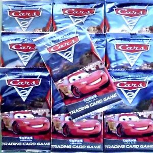 TOPPS-CARS-2-TRADING-CARD-GAME-DISNEY-PIXAR-PACK-OF-5-CARDS