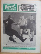 SPORT MAGAZIN KICKER 3A - 20.1. 1964 * 1860-BVB 6:1 Schalke-Kaiserslautern 4:0