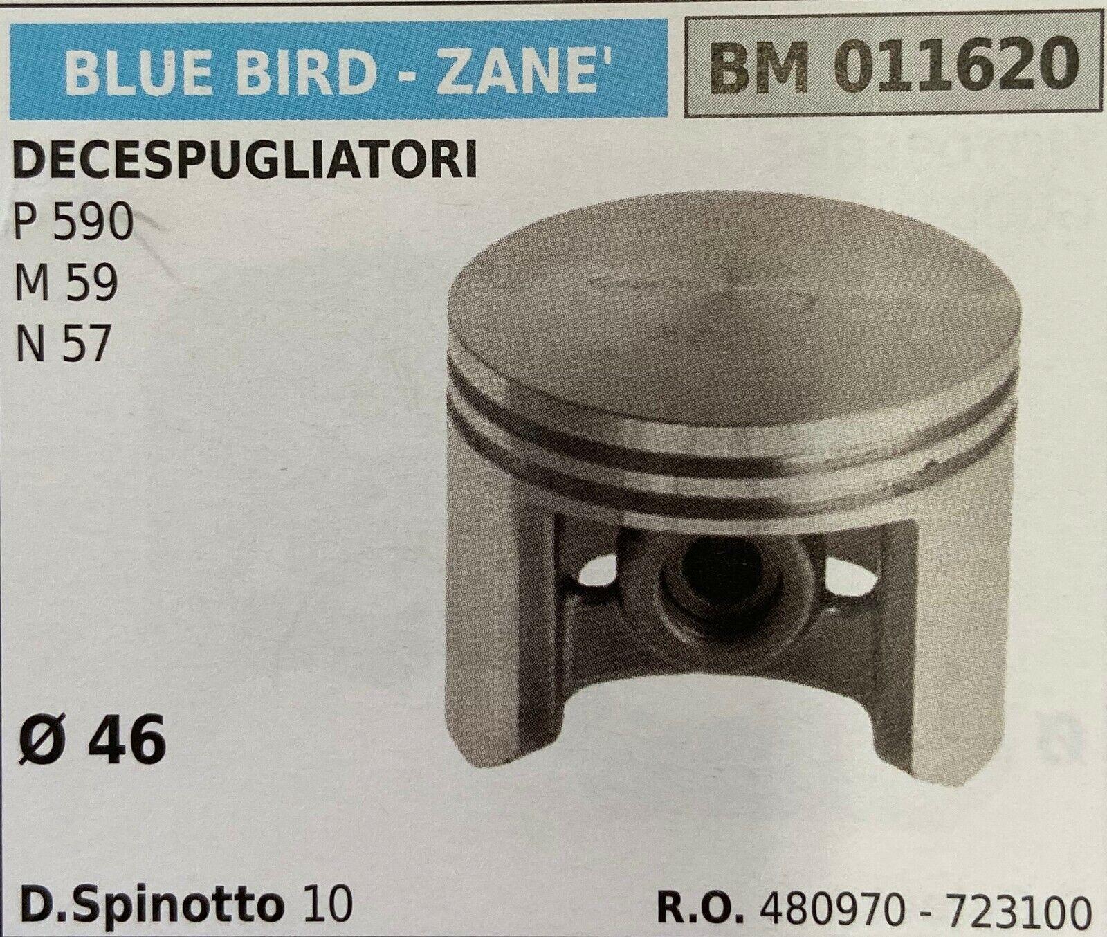 Kolben Komplett Blau Bird - Zane 'BM011620