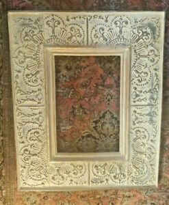ANTIQUE-Hand-Carved-Wooden-Picture-Frame-Collectible-SUPERB-27-034-x-22-034-inch