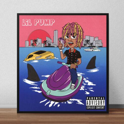 Lil Pump Album Cover Poster Giclée Lil Pump