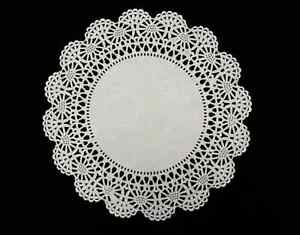 Details About WHITE LACE PAPER DOILIES 10 Party Craft Wedding Cards Invitations