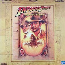 LASERDISC - INDIANA JONES ET LA DERNIER CROISADE WS VF -  PAL -Harrison Ford