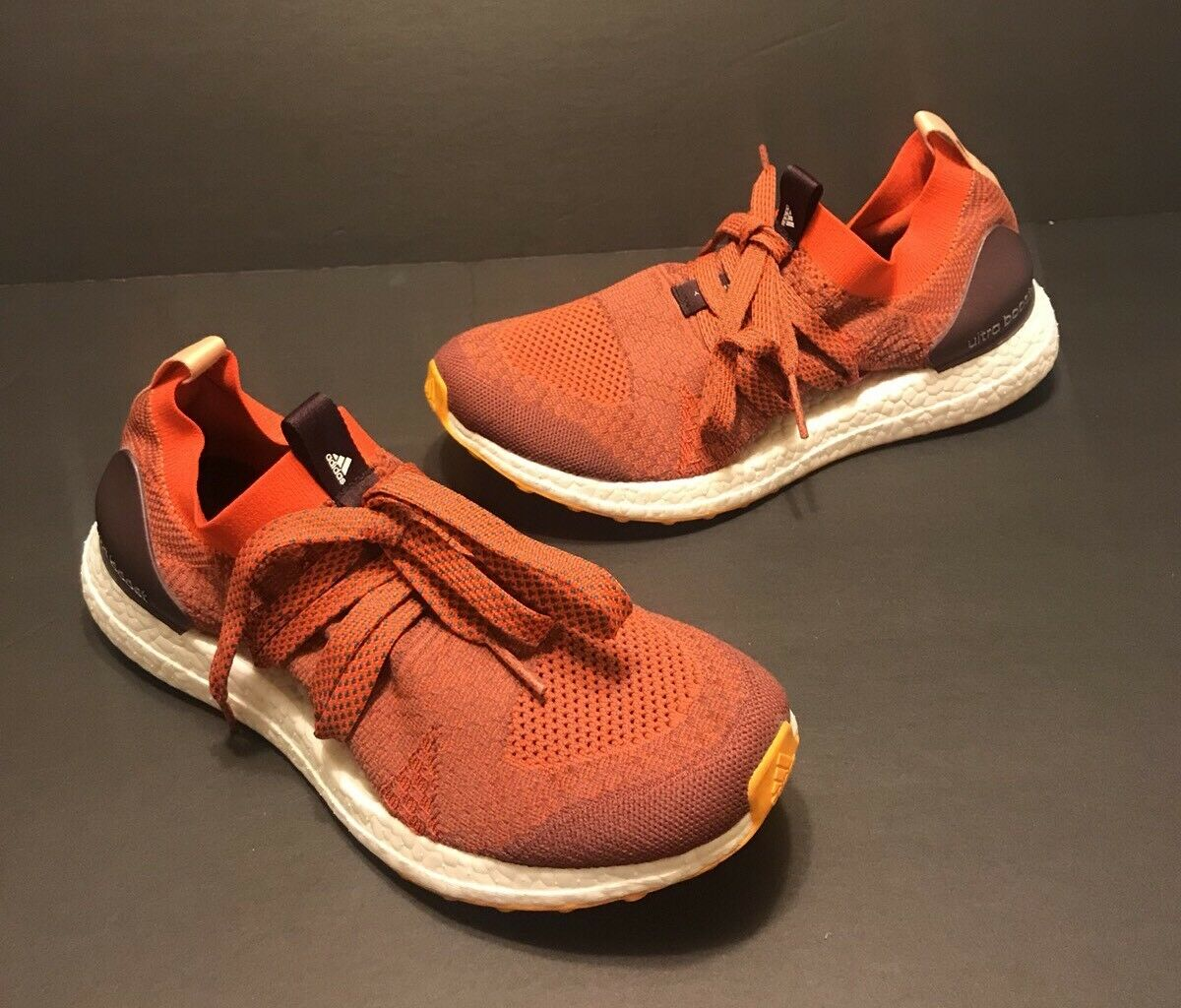Womens Adidas Ultra Boost X Stella McCartney Running Shoes Orange Comfortable Wild casual shoes