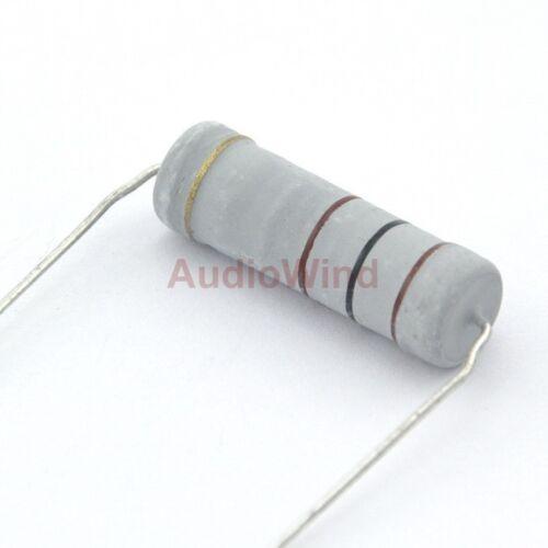 5pcs 100 Ohm Metal Oxide Film Resistors 5W 5 Watts.