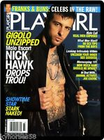 Playgirl Nick Hawk Magazine Cover Refrigerator Magnet