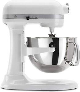 KitchenAid KP26M1XWH 6 Qt. Professional 600 Series Bowl-Lift Stand Mixer White