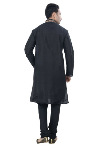 New Designer Indian Bollywood Kurta Sherwani Pakistani Ethnic Men 2pc Suit