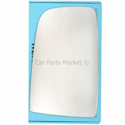 Puerta de ala izquierda del lado del pasajero de Vidrio Espejo Para VW Passat 2006-16 climatizada