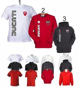 Prix Pas Cher Maglietta Polo T-shirt Felpa Cappuccio Ducati Corse Old Desmosedici Cod85 Qualité Et Quantité AssuréE