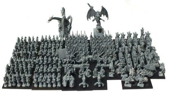 Warmaster - Dark Elves Army - 10mm