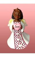 Love African American Angel Christmas Ornament, By United Treasures