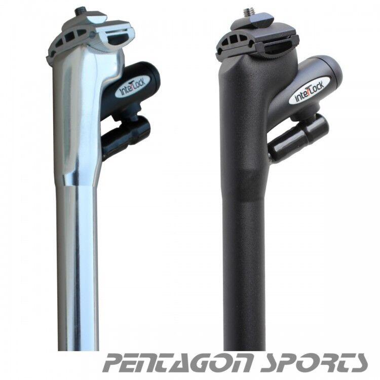 Lucchetto Bicicletta Integrato Interlock Reggisella a Cavo Fixie MTB da Corsa