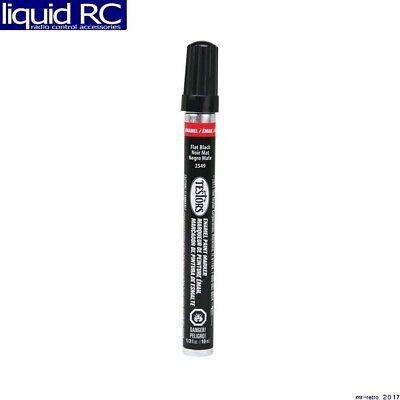 Testors 2549c Enamel Paint Marker Flat Black | eBay