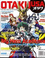 Otaku Usa February 2017 Anime Manga Gaming J-pop Cosplay