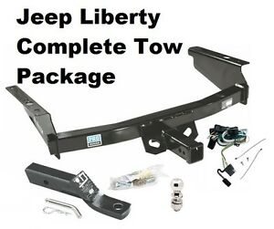 Lovely A Imagem Está Carregando 2002 2007 JEEP LIBERTY COMPLETE TRAILER HITCH  PACKAGE