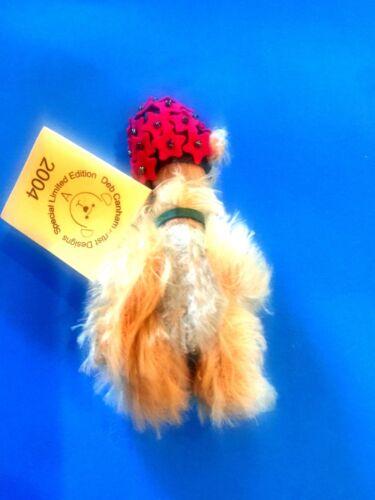 "DEB CANHAM BAD HAIR DAY /"" BERYL/"" MINI  MOHAIR TEDDY BEAR"