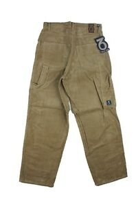 Three-Sixty-254-Mens-Beige-Carpenter-Cords-Loose-Fit-Trousers-Skate-Supreme