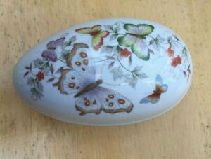 Home Decor Lovely vintage Avon Butterflies Fantasy Egg Easter keepsakes