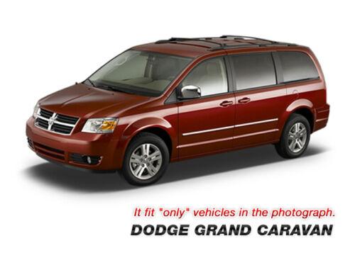 Chrome Door Catch Molding w//o Passenger Keyhole for DODGE 2008-13 Grand Caravan