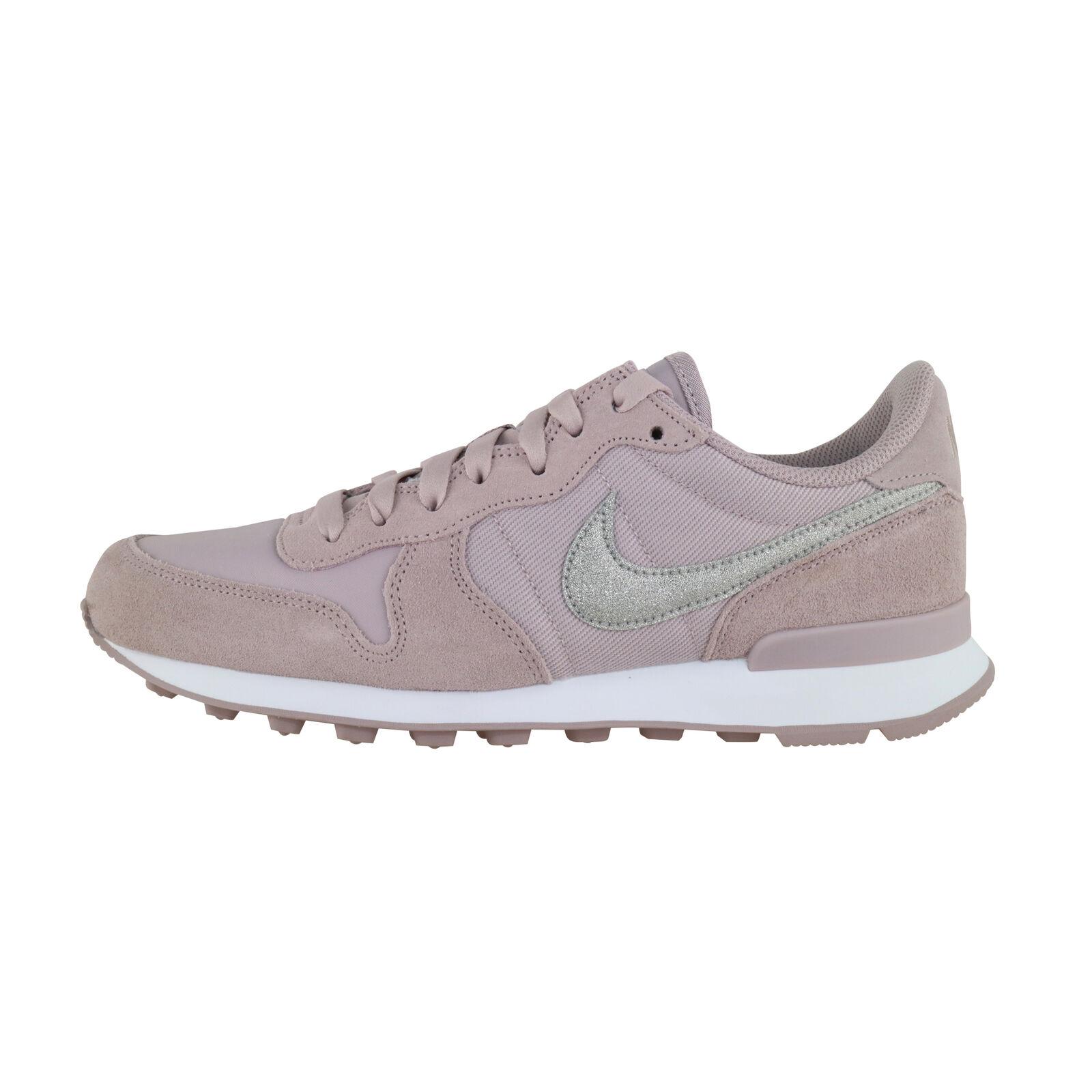 Nike Internationalist Glitter Women pink white AT0075-600