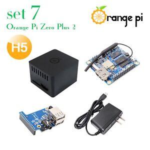 Details about Orange Pi Zero Plus 2 H5 Set 7: Zero Plus 2 H5+Protective  Case+Expansion Board