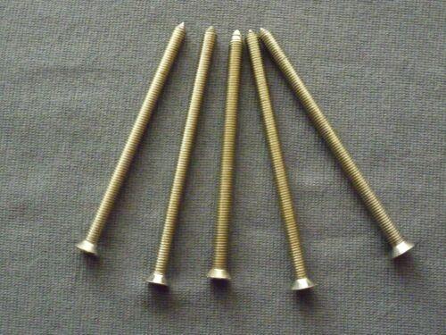 Stulpschrauben M5 x 80mm für den Einbau von Schließzylinder 5 Stück Schrauben