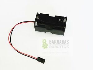 RC-4-x-AA-Battery-Holder-With-Futaba-Plug-For-Receiver-Cars-Heli-Planes-Boats