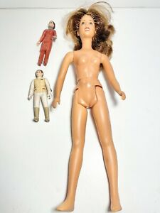3 vintage Star Wars Princess Leia action figures doll 1978 1980