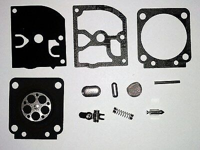 Carburetor Kit For Zama RB-129 Compatible With Fuel Containing Up to 25/% Ethanol