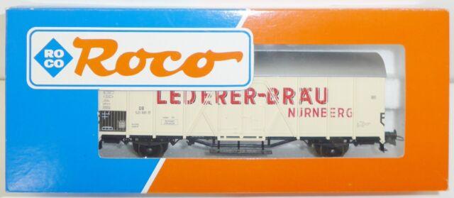 ROCO  46236 DB Bierwagen / Kühlwagen  Lederer-Bräu  Spur H0   OVP