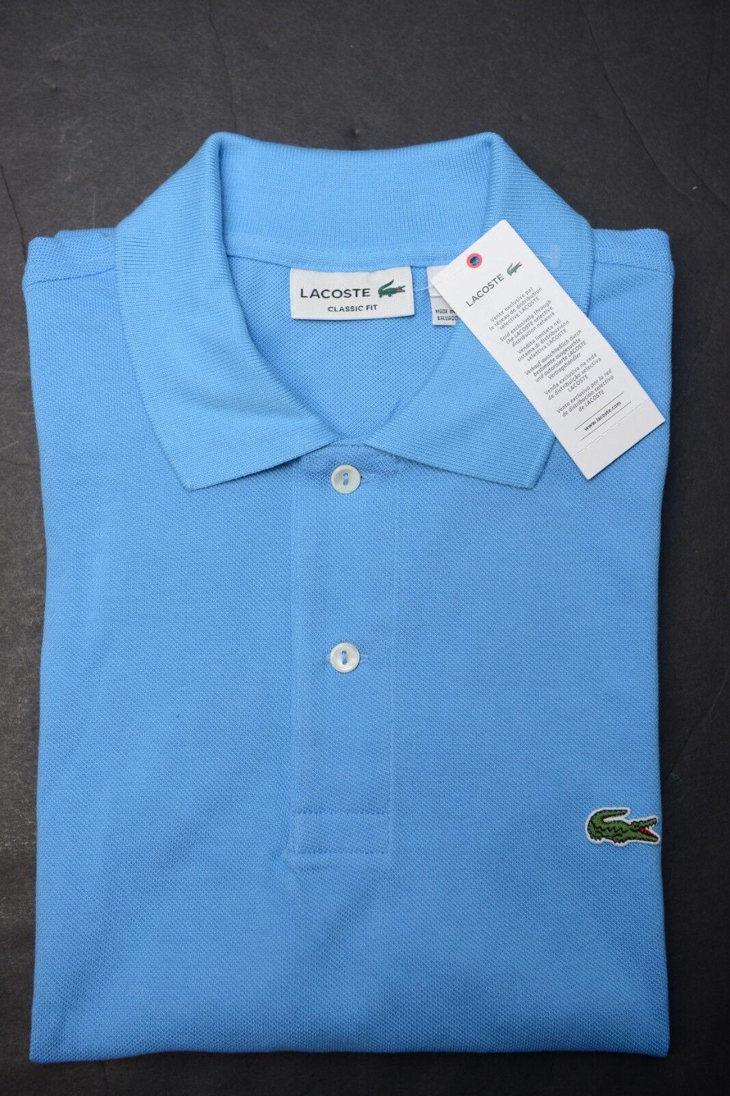 Lacoste L1212 Uomo Taglio Classico argentoina Blu Maglietta Polo Polo Polo di Cotone XXL 7 309d4b