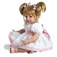 "New Adora Toddler Happy Birthday Baby 20"" Girl Weighted Doll Gift Set New."