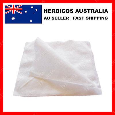 100PCS 29cm X 29cm DISPOSABLE FACIAL CLEANSING WIPE TISSUE TOWEL WHITE
