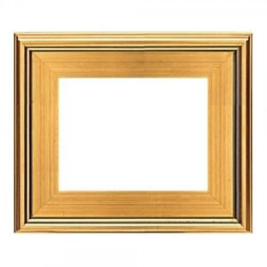 9x12 Classic Modern Picture Paint Frame Plein Air Wood Gold Leaf 3