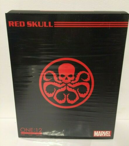 AUTHENTIC MEZCO One:12 Collective Red Skull MARVEL BRAND NEW 6in Action Figure