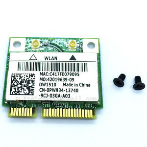 Dell Precision M20 Wireless (Except US,Japan) WLAN Card Drivers (2019)